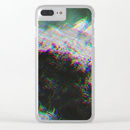 Oceanic Glitches - Oldest Waves Clear iPhone Case