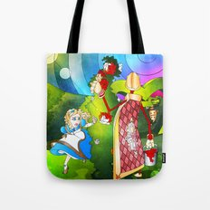 Paint The Roses Red Tote Bag