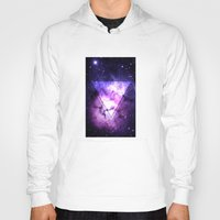 outer space Hoodies featuring Outer Space by Erick Navarro
