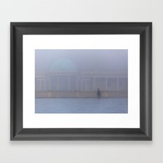 Out of the Fog, Eaton Park, Norwich Framed Art Print