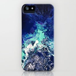 Gatria - Abstract Costellation Painting iPhone Case