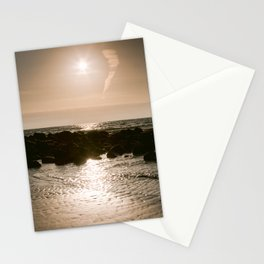 Beach | Netherland | Ocean | dunes | sunset Stationery Cards