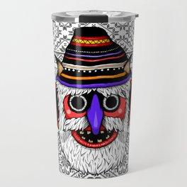 Bucovina Mask / Masca de Bucovina Travel Mug