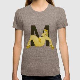 Pony Monogram Letter m T-shirt