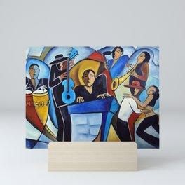 Blue Salsa Mini Art Print