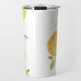 Lemons & Limes Kitchen print Travel Mug