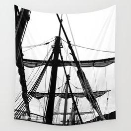 Ships Masts Wall Tapestry