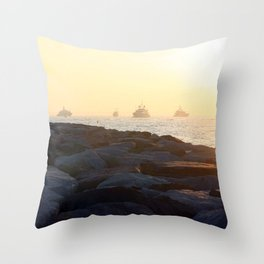 Saint Tropez Throw Pillow
