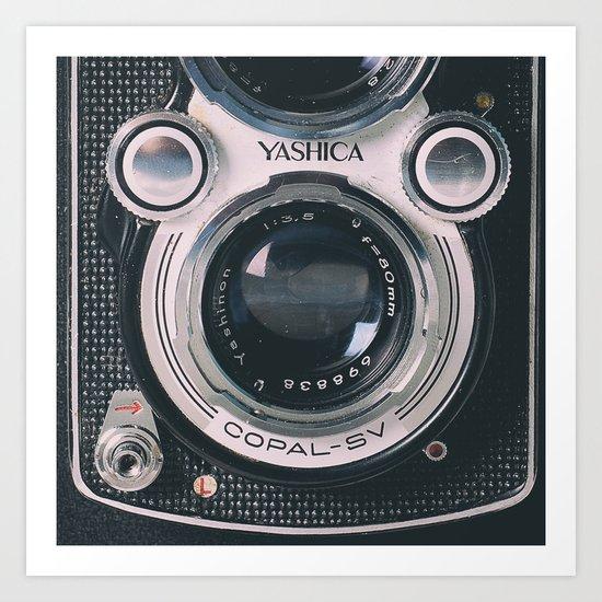 Photography camera 4 Art Print
