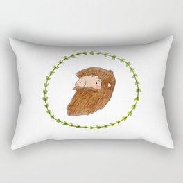 Bearded Bloke Rectangular Pillow