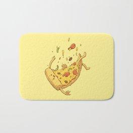 Pizza fall Bath Mat