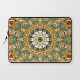 Flower Of Life Mandala (Sundial) Laptop Sleeve