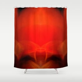The Great Eye Watches The Golden Horizon Shower Curtain