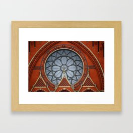 Music Hall, Cincinnati Framed Art Print