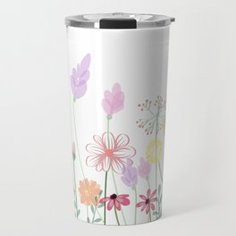 Flowers,plants,botanical art Travel Mug