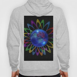 Abstract in Perfection - Rose 3 Hoody