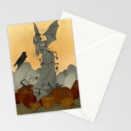 Autumn Cemetery Stationery Cards