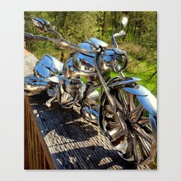 The Bagger Coming At You Canvas Print