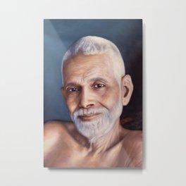 Bhagavan Sri Ramana Maharshi Metal Print