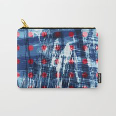 dots on blue ice Carry-All Pouch