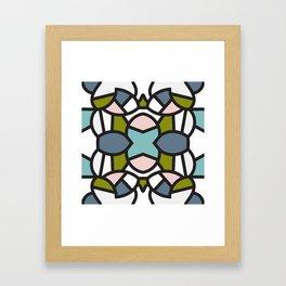 Nice Tile Framed Art Print