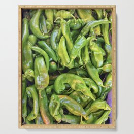 Green Chile Serving Tray