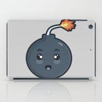 kawaii iPad Cases featuring Kawaii Bomb by Nir P