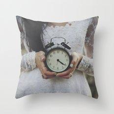 Ticking Throw Pillow