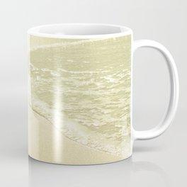 beach sparkling golden sand Coffee Mug