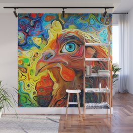 I Have My Eye On You Wall Mural