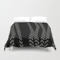 Chevron and Zebra Duvet Cover
