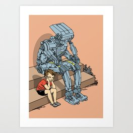 Quiet Contemplation Art Print