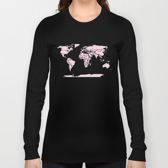 Color My World ~ Pink Long Sleeve T-shirt