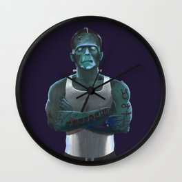 Guilty By Association Wall Clock