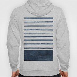 Watercolor Stripes Pattern Hoody