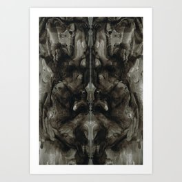 Rorschach Stories (5) Art Print