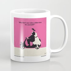 No205 My Roman Holiday minimal movie poster Mug