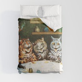 Kitty Happy Hour - Louis Wain's Cats Comforters