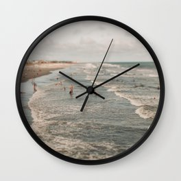 Searching For Summer Wall Clock