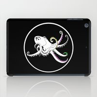 octopus iPad Cases featuring Octopus by mailboxdisco