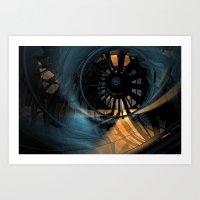 Wind Tunnel Art Print