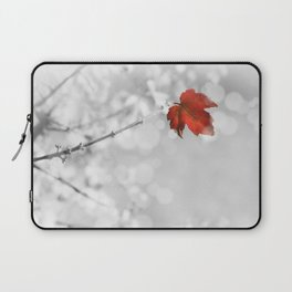 Red in the Snow Laptop Sleeve