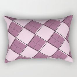 Argyle Out of Line Girly Rectangular Pillow