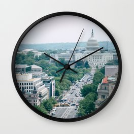 Independence Avenue Wall Clock