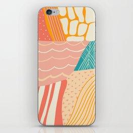 beach quilt iPhone Skin