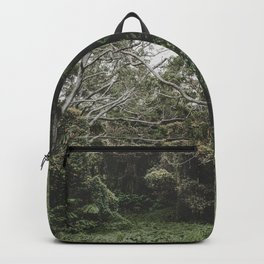Jungle of Trees in Hilo, Hawaii Backpack