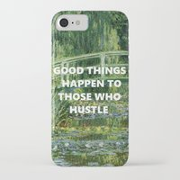 steelers iPhone & iPod Cases featuring Noll's Water Lilies  by ArikaDoe