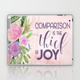 Comparison in the Thief of Joy Laptop & iPad Skin