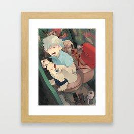 Bathroom Framed Art Print