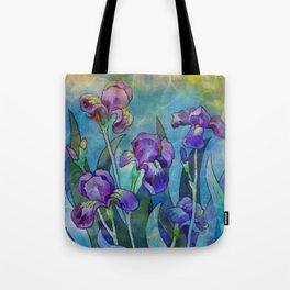 Fantasy Irises Tote Bag